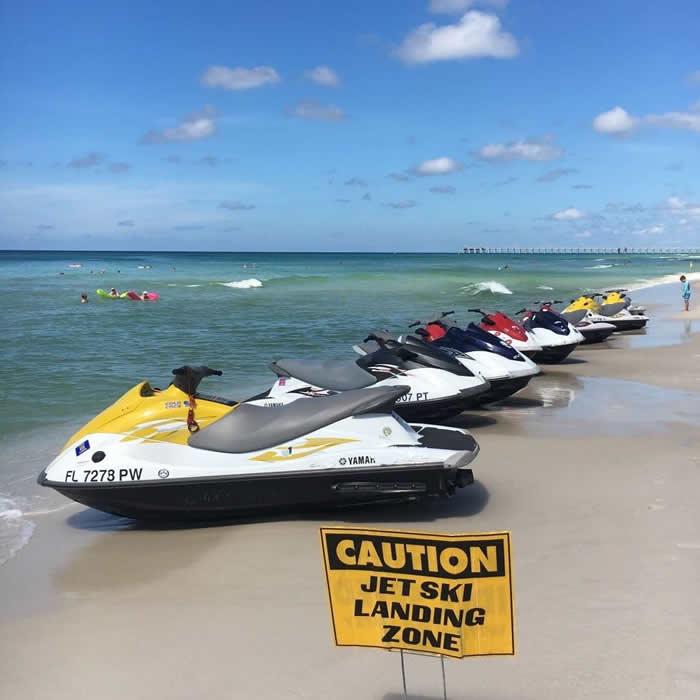 Agape Beach Service Jet Skis on Panama City Beach
